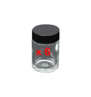 1oz. jar & cover 50-0052B pack of 6