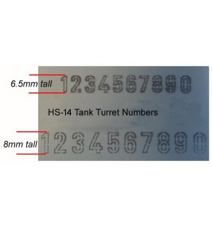 Tank Turret Numbers