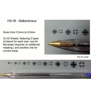 Balkenkreuz set