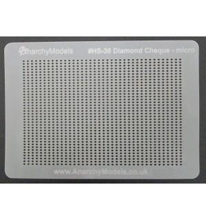 Stencil Diamond Cheque Micro