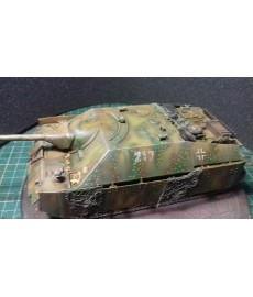 Weathering model armour vehicles