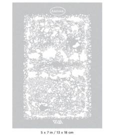Stencil HEX PAVING