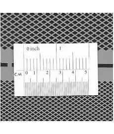 Stencil Diamond Grid small + mini
